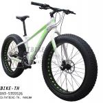 จักรยานล้อโต Kfavor Snow Pro 27 speed ขาว/เขียว