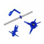 ชุดแต่งเฮดพลาสติกสีน้ำเงิน : v911, v911-1, v911-pro