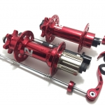 ดุมจักรยานล้อโต NOVATEC FAT BIKE ,D101SB+D102SB (สีแดง)