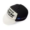 หมวกแก๊ปจักรยาน ผ้าตาข่ายระบายลม ลายทีม SHIMANO TREK TEAM (สีขาว-ดำ)