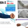 Aqua-X ICE COOL ปลอกแขนนักปั่น นักกอล์ฟ จากเกาหลี กันแดด กันยูวี ใส่แล้วเย็นสุดๆ กระชับ ทอไร้รอยต่อ มี 3 สีสุดคลาสสิก ให้เลือก เทา ดำ และ ฟ้า