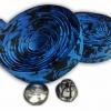 ผ้าพันแฮนด์ ลายทหารพราง (สีน้ำเงิน/ดำ)