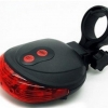 ไฟท้าย LED ไฟแสงเลเซอร์ ไฟท้ายเซฟตี้ สร้างเลนจักรยาน แสงสีแดง แบบ LED