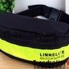 กระเป๋าเป้ใส่คาด-อกเวลาปั่นจักรยาน เสริมความปลอดภัยยามค่ำคืน สายคาดหน้าอก บุแถบสะท้อนแสง Linnell's (สีดำ)
