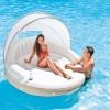 Intex Canopy Island Inflatable Lounge แพยางสีขาวมีร่ม 58292