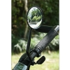กระจกข้างจักรยาน ติดตั้งบนแฮนด์ แบบกระจกนูน กระจกมองหลังจักรยาน มุมมองกว้าง 150 องศา