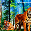 เสือโคร่งสองตัว