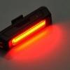 ไฟหน้า/ไฟท้ายจักรยาน Super COMET ไม่ใช้ถ่าน ชาร์ดไฟบ้าน USB - แสงแดง