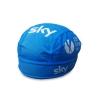 หมวกแบบผูก สำหรับนักปั่นจักรยาน ผ้าโพกหัวนักปั่น ผ้าตาข่ายระบายลม ลายทีม SKY ฟ้า - FREE SIZE