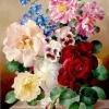 ภาพวาดแจกันดอกไม้
