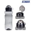 กระติกน้ำพลาสติก BETO (ใส/ดำ)