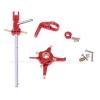 ชุดเฮดอลูมิเนียมแต่งสีแดง : v911, v911-1, v911-Pro