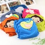 กางเกงผ้าอ้อม mom2babyshop รุ่น N303 กันน้ำ แบบสวม Size M คละสีคละลาย