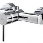 ก๊อกผสมยืนอาบน้ำแบบก้านโยก COTTO CT2047A รุ่น ANTHONY (เกลียวบน)