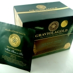 (ขายส่ง) ชาใบทุเรียนเทศ GRAVIOLA GOLD x 12 กล่อง
