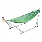 เครื่องไกวเปล Autoru รุ่น Baby Bright+ เปลญวนเด็ก Premium hammock (สีเขียว)
