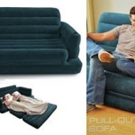Intex Pull-Out Sofa & Queen Bed (68566) โซฟาปรับนอน
