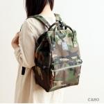 กระเป๋าเป้ anello lotte พร้อมส่ง ไซส์ Classic ลายทหาร Camo รุ่น upgrade มีซิปด้านหลัง
