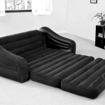 Intex Pull-Out Sofa & Queen Bed (68566) โซฟาปรับนอนสีดำ