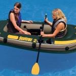 Intex Seahawk 2 ชุดเรือยาง 2 ที่นั่ง พร้อมไม้พาย + Intex - 68347