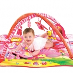Gymini Tiny Princess Adorably-designed, engaging play mat for your little baby girl