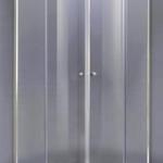ตู้โค้งเข้ามุม 2 บานเลื่อน กระจกนิรภัย 6 มม. COTTO SF090R2-GS ขนาด 900 x 900 x H1850 มม. รุ่น ESTER