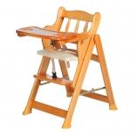 เก้าอี้นั่งทานข้าวเด็ก Autoru รุ่น High Wooden Chair