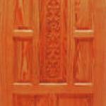 ประตูไม้สน อเมริกา CITY TS914 ขนาด 80x200