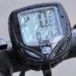 ไมล์จักรยานไร้สาย SUNDING- กันน้ำ นำเข้าจากสิงคโปร์ SD-548c-รุ่น LIMITED EDITION วัดความเร็ว-ระยะทาง-เวลา - สีดำกรอบเทา