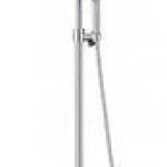ก๊อกผสมยืนอาบน้ำพร้อมฝักบัวสายอ่อน 1 ฟังก์ชั่นและฝักบัว COTTO CT2071W