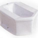 ส้วมนั่งยองราดน้ำมีฐาน KARAT K-17919X ขาว