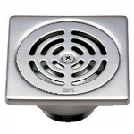 ตะแกรงกันกลิ่นสเตนเลสเหลี่ยมเกลียว 1.5 นิ้ว COTTO CT646Z1(HM)