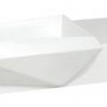 เคาน์เตอร์ใต้อ่างล้างหน้าหินเทียม แบบแขวนผนัง COTTO VG0101
