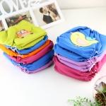 กางเกงผ้าอ้อม mom2babyshop รุ่น N106 กันน้ำ Size XL คละสีคละลาย