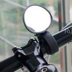 กระจกมองข้างจักรยาน แบบรัดแฮนด์ ติดตั้งง่ายปลดเร็ว ไม่เกะกะ