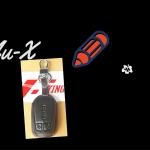 ซองกุญแจ Isuzu Mu-X ดำด้ายแดง