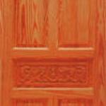 ประตูไม้สน อเมริกา CITY TS925 ขนาด 80x200