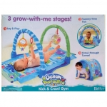 Kick & Crawl Gym 3 grow-with-me stages