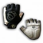 ถุงมือหนังเสริมถุงเจล กันมือพอง Pearl Izumi แบบครึ่งนิ้ว (สีเทา) Size M