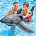 Intex Great White Shark Rider Ride On แพปลาฉลาม 57525