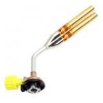 หัวพ่นไฟ หัวเชื่อมทองเหลืองท่อคู่ หัวพ่นแก๊สพลังไซโคลน สำหรับเชื่อมท่อแอร์ ท่อปะปา KT-2108 (TWIN BRAZING)