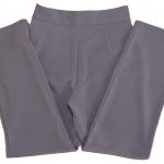 กางเกงขากระบอกเอวสูง ผ้าฮานาโกะ สีม่วงพาสเทล Size S M L XL