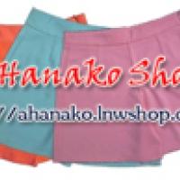 ร้านขายปลีก-ส่งกางเกงเอวสูงผ้าฮานาโกะ ขาสั้น ขายาว