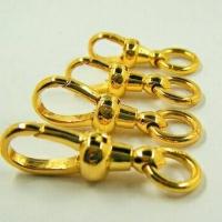 สปริงก้ามปูทองคำแท้ 90% แบบไม่หมุน