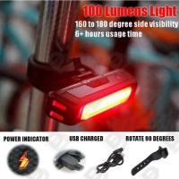 ชุดไฟจักรยาน ไฟLEDกันน้ำ ไฟหลอดครี ไฟหน้าไฟท้ายจักรยาน MTB หลายระดับราคา และ ฟังก์ชั่นใช้งาน