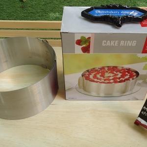 พิมพ์วงแหวนสแตนเลส(Cake Ring)