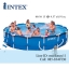 Intex Metal Frame pool 15 ฟุต 28232 + เครื่องกรองระบบไส้กรอง thumbnail 1