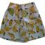 กางเกงขาสั้นและเสื้อผ้ามิลินพิมพ์ลายกล้วย กระเป๋าขวา ซิปซ้าย เอวยางยืดหลัง thumbnail 3