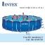 Intex Metal Frame pool 18 ฟุต 28252 + เครื่องกรองระบบไส้กรอง thumbnail 1