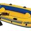 Intex ชุดเรือยางชาลเลนเจอร์ 3 ที่นั่งพร้อมพายอลูมิเนียมและที่สูบลมดับเบิ้ลควิ๊ก ทู Intex - 68370 thumbnail 5